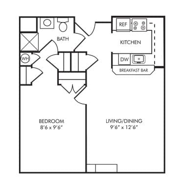 senior apartment community in carroll county md village 700 sq ft 1 bedroom house plans home design ideas