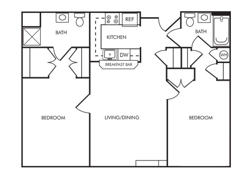 Senior apartment community in carroll county md village for 850 sq ft house plans